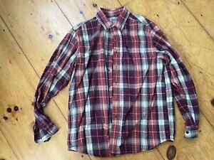 LL Beans Flannel Shirt - Good Condition Size Medium