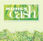 $5 Kohls Cash expires 10/1/21