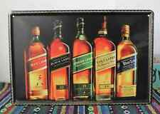 Tin Sign Vintage Retro Metal Bar Pub Wall Decor Poster Johnnie walker whisky