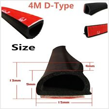 4M Update D Pillar Car Door Frame Bonnet Trunk Cover Sealing Strips Trim Seals