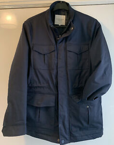 Debenhams racing green coat size small New