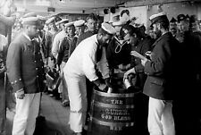 """ROYAL NAVY RUM/GROG ISSUE - 17 PHOTOS PLUS """"FIRST DAY WITHOUT """" + SIGNAL ENDING"""