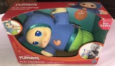 Nursery Musical Lullaby Blue Glow Worm Soft Plush Toddler Kids Interactive Toys