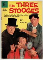 THREE STOOGES #1043   (1959 DELL)    ISSUE #1 WITH A PHOTO COVER GOOD/VG