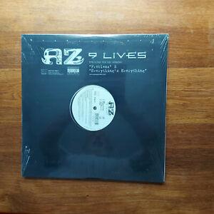 AZ 9 LIVES LP X 2 MINT