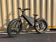 """Ebike1 """"RAPTOR"""" 12,000 Watts 100v Full Charge Electric Fat Bike The BEST quality"""