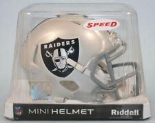 Oakland Raiders NFL Riddell Mini Speed casque