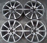 4 Originale Mercedes-Benz Cerchi in Lega 7.5Jx17 ET42 A1724010302 SLK R172 SLC