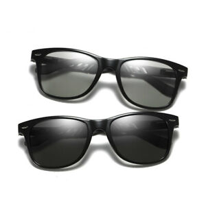 Men Women Transition Photochromic Sunglasses Polarized Driving Glasses UV Shades