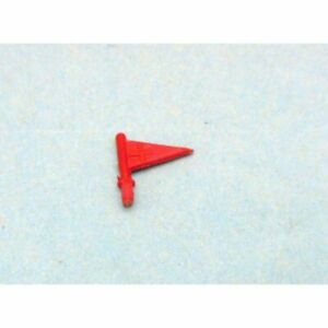 ** NOR047 - Fanion rouge pour Ambulance Simca Marly Norev N°41