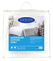 NEW Jason 100% Australian Cotton 250gsm Summer Weight Doona/Quilt/Duvet