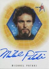 Star Trek 35th Anniversary Holofex Autograph Card A13 Michael Pataki
