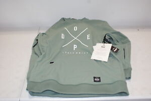 Dope Yeti Womens Snowboard Jacket - Faded Green - Small