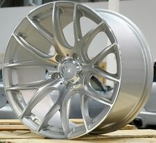 "19"" Miro 111 Silver Wheels 19X8.5 +15 / 19x10.5 +40 5x114.3 Concave Rims Set 4"