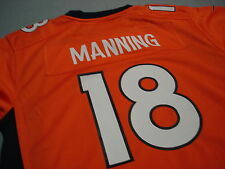 NIKE On Field Peyton Manning DENVER BRONCOS Jersey youth XL 18-20  NEW !