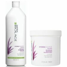 Matrix Biolage HydraSource Shampoo & Conditioner 1000ml/Liter FOR DRY HAIR