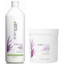 Matrix Biolage HydraSource Shampoo & Conditioner 1000ml/Liter FOR DRY HAIR