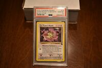 Pokemon Promo Black Star Team Rocket's Meowth #18 - PSA 10 Gem Mint