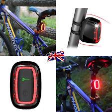 UK New Meilan X6 Smart Bike Tail LED Flashing Light Daylight Sensor 50 Lumens