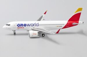 JCWINGS JC4228 1/400 AIRBUS A320NEO IBERIA ONEWORLD LIVERY REG: EC-NFZ