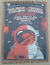 YONDER MOUNTAIN STRING BAND / INFAMOUS STRINGDUSTERS 2018 Red Rocks Poster Set