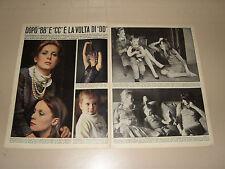 CATHERINE DENEUVE DORLEAC FRANCOISE 1966 clipping ritaglio articolo photo foto