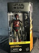 STAR WARS:clone Wars Black Series 05 Mandalorian Super Commando  F0014 ?