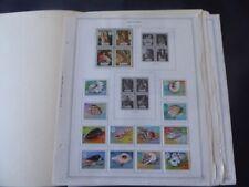 Aitutaki 1972-1982 Stamp Collection on Album Pages