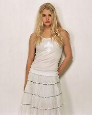 EMILIE DE RAVIN SEXY WHITE DRESS 8X10