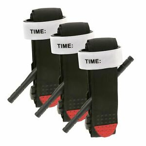 3 pcs Tourniquet Rapid One Hand Application Emergency Outdoor First Aid Kit USA
