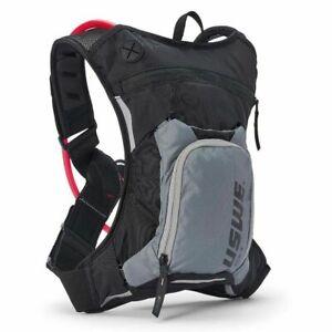 USWE RAW 3 Black / Grey Hydration Backpack  Motocross Enduro MTB
