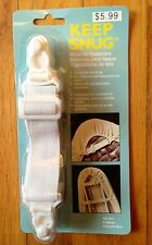 4 BED SHEET GRIPPERS FASTENERS HOLDERS STRAPS ELASTIC - NEW