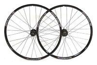 """Bontrager Race Disc 26"""" Wheelset Alloy Mountain Bike 10 Speed Tubeless QR"""