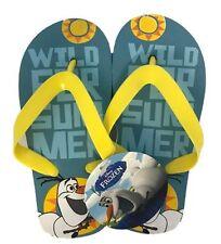 Garçons Filles Enfants Tongs Sandales de plage d'été enfant chaussons Frozen UK 7