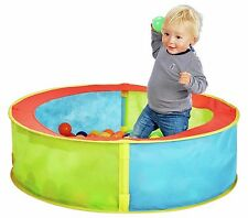POP UP BALL PIT PLAY PEN POOL ROUND EASY ASSEMBLY IN/OUTDOOR 80x23cm *BRAND NEW*