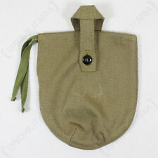 WW2 RUSSIAN CANTEEN COVER - Repro Soviet Water Bottle Cover Olive Green Canvas