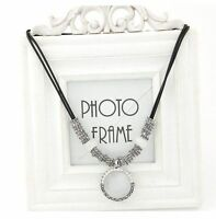 Fashion Jewelry Women Choker Chain Pendant Collar Statement Crystal Bib Necklace