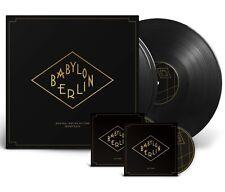 """OST """"Babylon Berlin"""" 180g Vinyl 3LP + 2CD NEU 2018 TV-Serie """"zu asche, zu staub"""""""