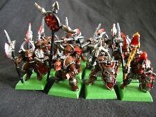 12 Khornate warriors of Chaos