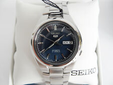 Seiko SNK603K1 Automático Plata Reloj De Hombre RELOJ PULSERA NUEVO