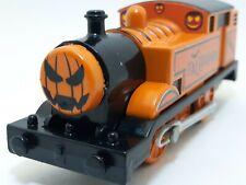 PUMPKIN THE HALLOWEEN TRAIN Thomas & Friends Trackmaster Motorized CUSTOMIZED