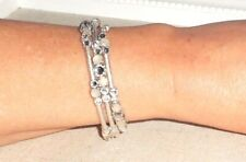 Stella & Dot Isabelle Silver Wrap Bracelet - New in Box! Original RV $39