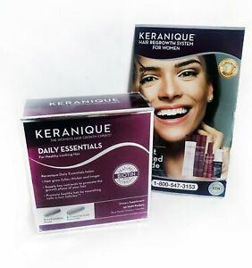 Keranique Daily Essentials Biotin Pro Vitamin Skin Nails & Hair Growth Vitamins