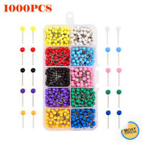 Dressmaking Pins Sewing 1000 PCS Round Pearl Head Pins Wedding Decorating Crafts