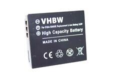 Akku für Panasonic CGA-S302E/1B, VW-VBA10, VW-VBA20, VW-VBA21 ACCU Li-ion