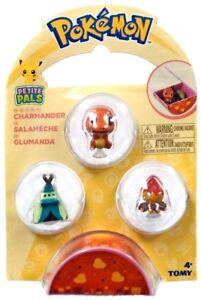 Pokemon Petite Pals Charmander Mini Figure 3-Pack