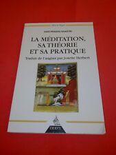 Hari Prasad Shastri - La méditation : Sa théorie et sa pratique