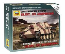 Sd.kfz.173 Jagdpanther Tank Plastic Kit 1:100 Model ZVEZDA