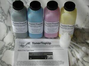 Rainbow Pack of Toner Refills Lexmark Optra C Pro 5045 1361210 1361211 1361212