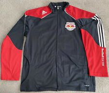 NEW YORK RED BULLS ADIDAS MLS RBNY TRACK JACKET MENS LARGE